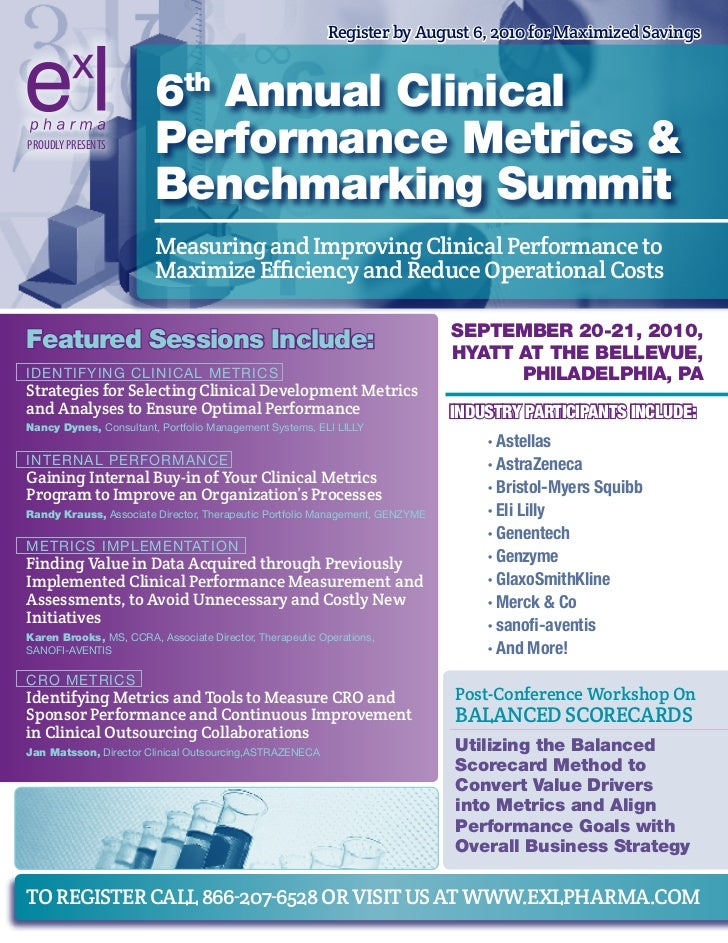 Register by august 6, 2010 for maximized savings                           6th Annual Clinical PROUDLY PRESENTS        Per...
