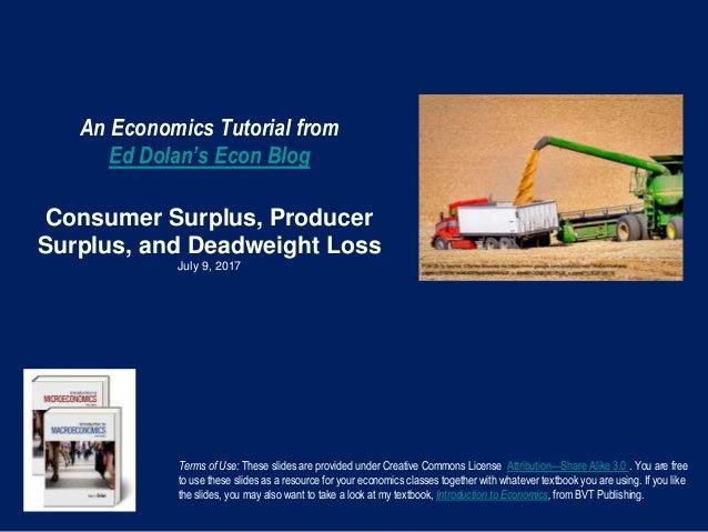 economics tutorial