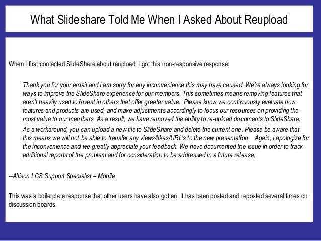 Bring back Reupload! Slide 3