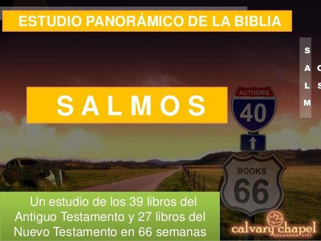 P19 Estudio Panorámico De La Biblia Salmos