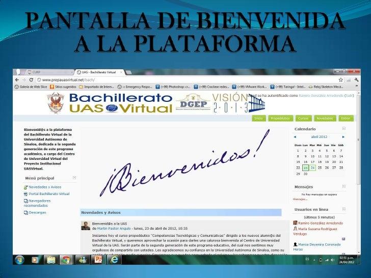 CONCLUSIÓNEl Bachillerato Virtual es una forma muy accesible para todas aquellaspersonas que trabajamos y somos padres de ...
