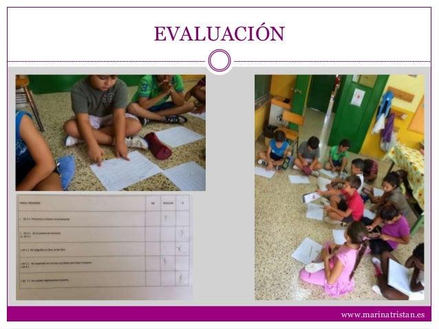 EVALUACIÓN www.marinatristan.es