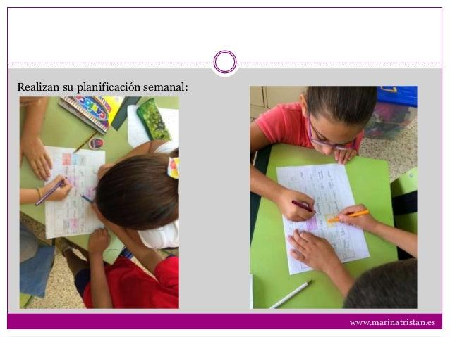 Realizan su planificación semanal: www.marinatristan.es