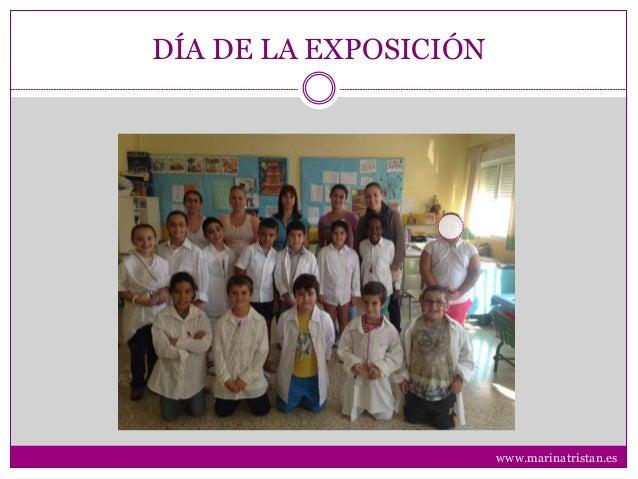 DÍA DE LA EXPOSICIÓN www.marinatristan.es