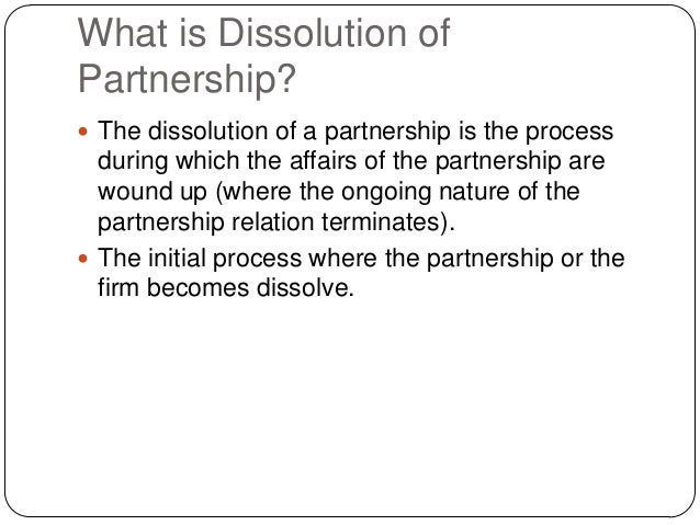 3. What Is Dissolution ...