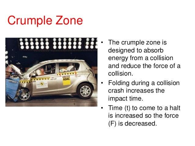 p2 2 car design safety rh slideshare net Ace Body Structure Crumple Zones Car Crumple Zones Safety Frame