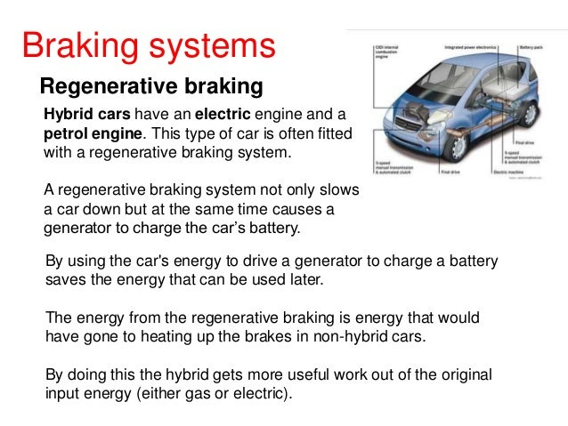 Electric Car Regenerative Braking Force Equation