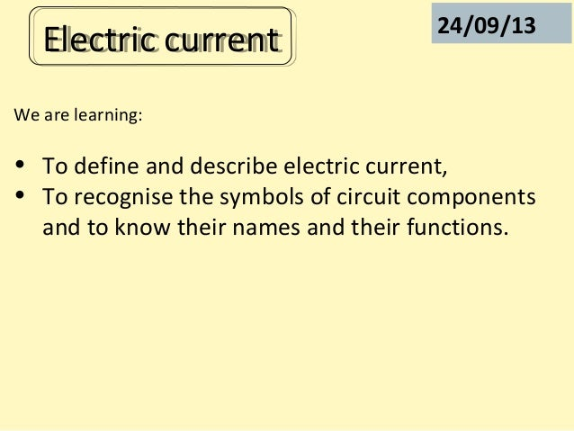 P2 Electric Current