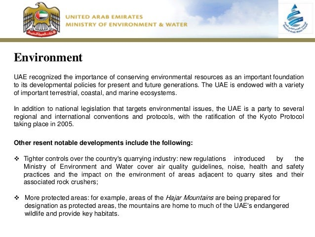 Steps Taken To Conserve Natural Resources