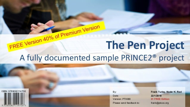 1PRINCE2® is a Registered Trade Mark of the AXELOS. The Swirl logo™ is a Trade Mark of the AXELOS. © Professional Training...