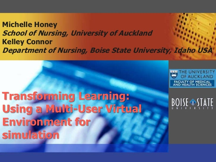 Michelle HoneySchool of Nursing, University of AucklandKelley ConnorDepartment of Nursing, Boise State University, Idaho U...