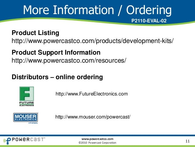 Powercast P2110-EVAL-02 Overview - Lifetime Power® Energy