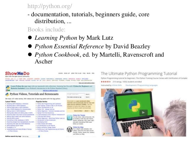 Overview What is Python ? Why Python 4 Bioinformatics ? How to Python IDE: Eclipse & PyDev / Athena Code Sharing: Git(hub)...