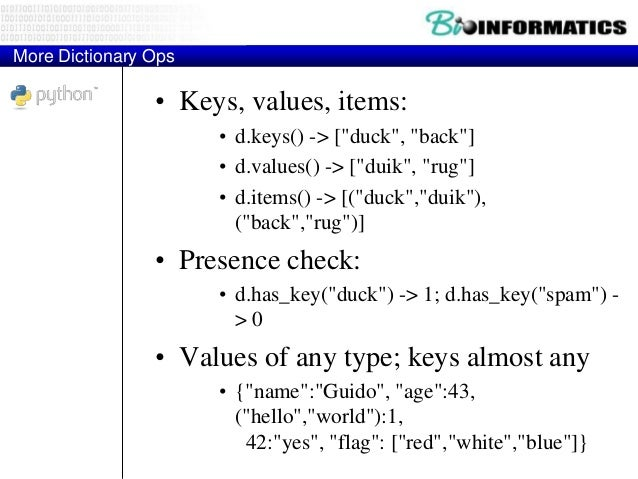 check if key in dictionary python