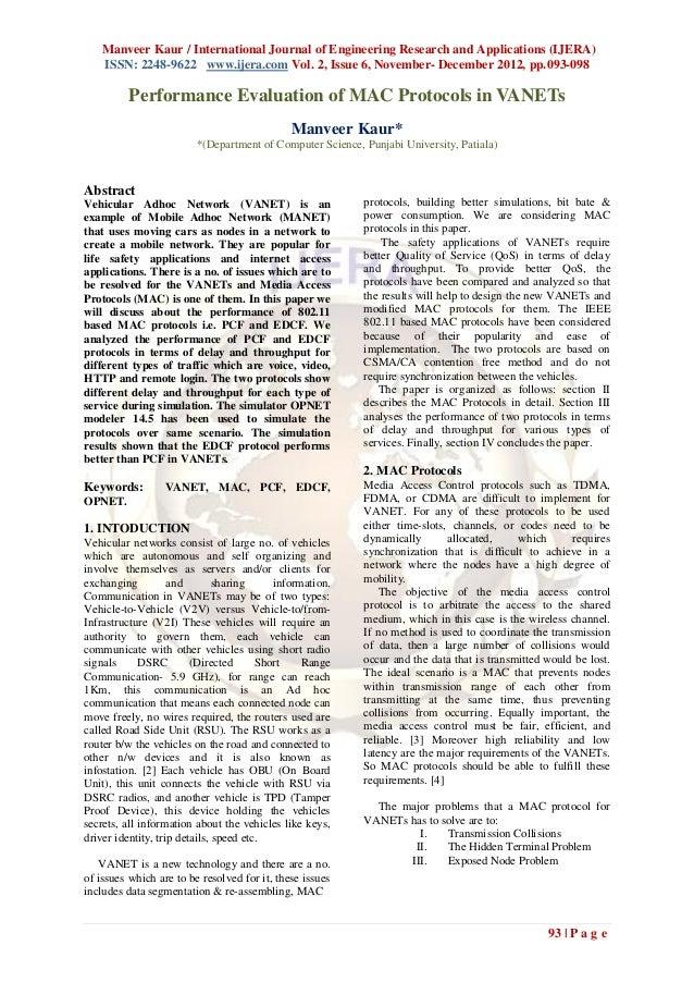Manveer Kaur / International Journal of Engineering Research and Applications (IJERA)    ISSN: 2248-9622 www.ijera.com Vol...