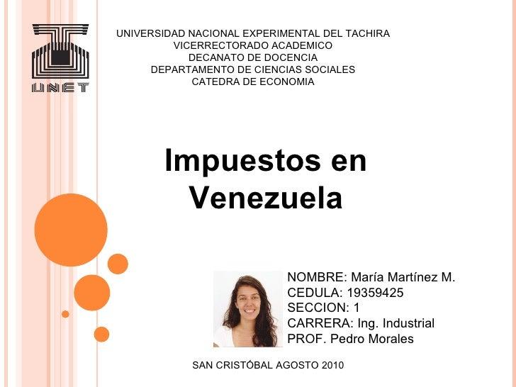 UNIVERSIDAD NACIONAL EXPERIMENTAL DEL TACHIRA VICERRECTORADO ACADEMICO DECANATO DE DOCENCIA DEPARTAMENTO DE CIENCIAS SOCIA...