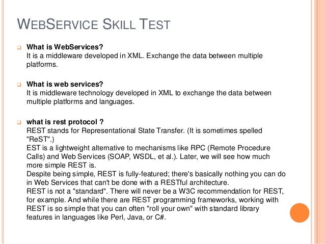 web service testing interview questions