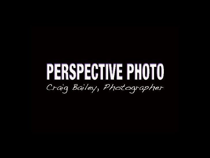 Perspective Photo does events!