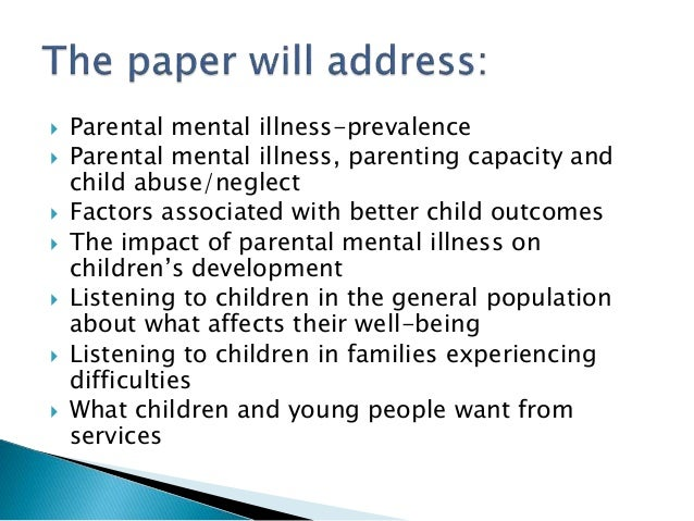 parenting young adults with mental illness