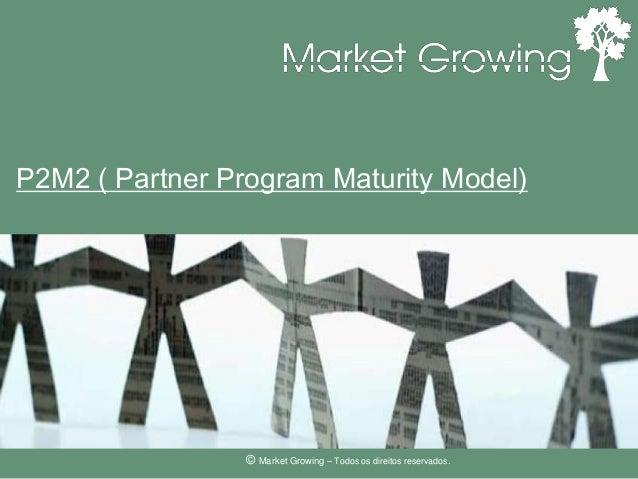 P2M2 ( Partner Program Maturity Model)© Market Growing – Todos os direitos reservados.