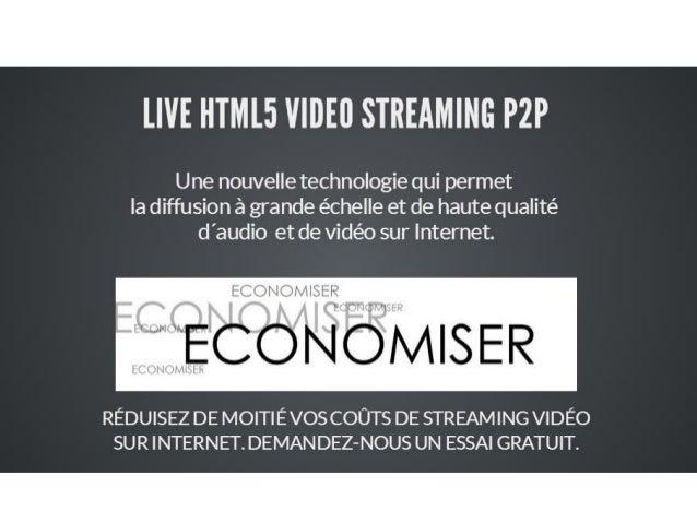 P2P HTML5 STREAMING MEDIA FR
