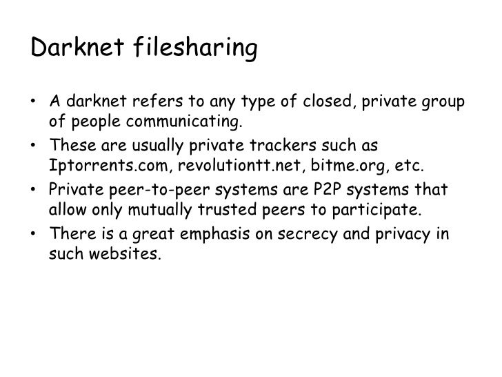 Peer to Peer networks and piracy