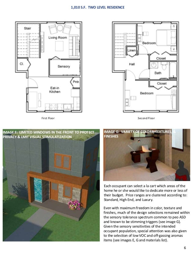 House to Home Design Competition for Autism Speaks