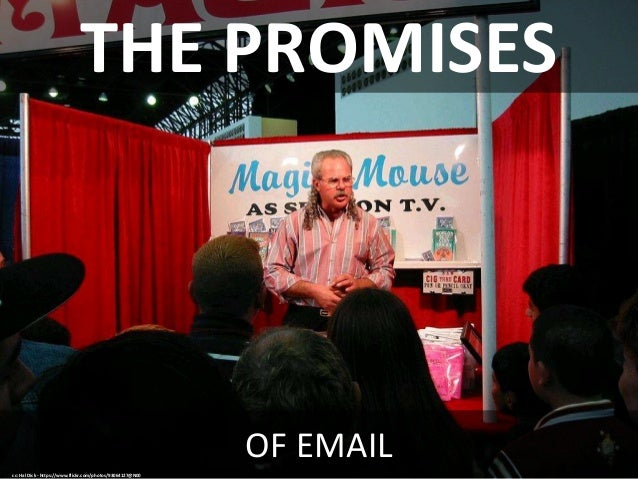 I used to be present but now I check email Slide 3