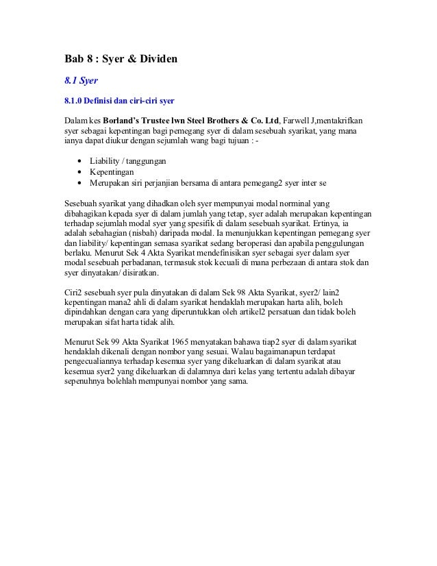 Contoh Surat Makluman Pertukaran Nama Syarikat
