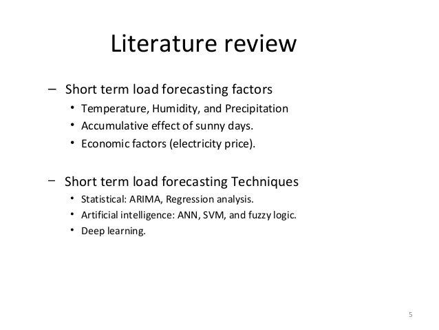 Literature review on educational technology