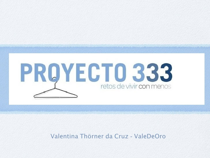 Valentina Thörner da Cruz - ValeDeOro