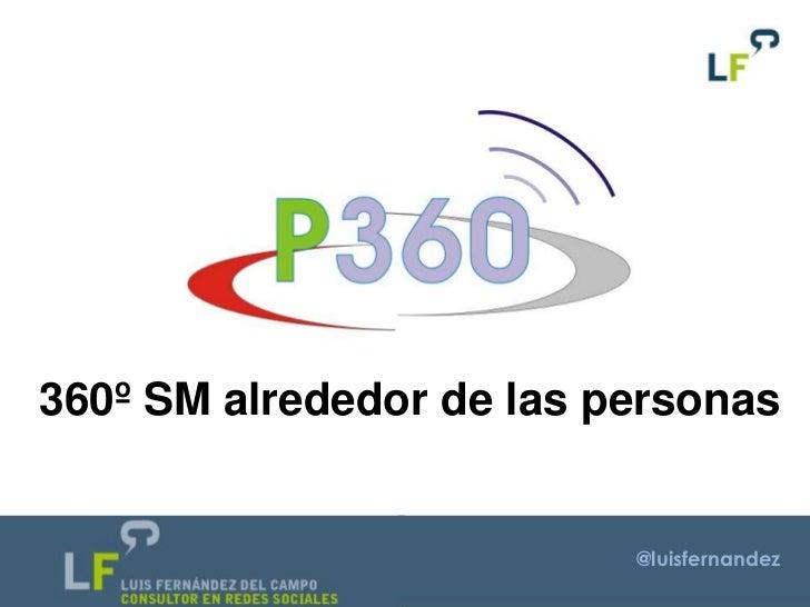 360º SM alrededor de las personas                          @luisfernandez