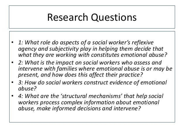 Challenges for social work in assessing and working with intra-famili…