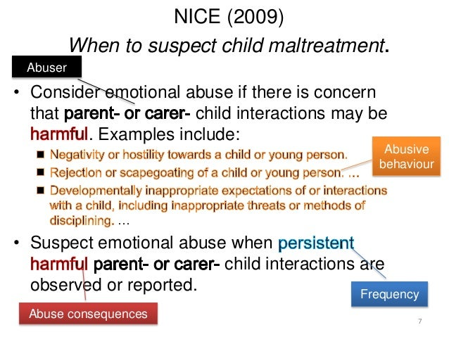 understanding definitions of psychological and emotional abuse (pea) …