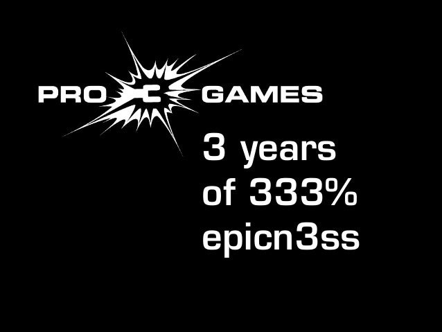 3 years of 333% epicn3ss