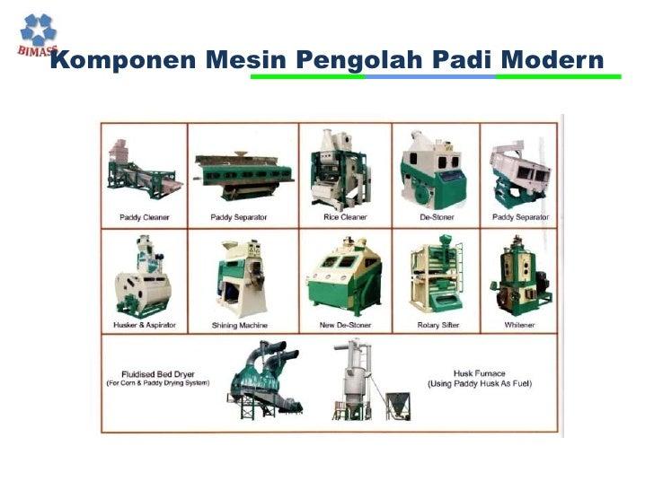 KomponenMesinPengolahPadi Modern<br />