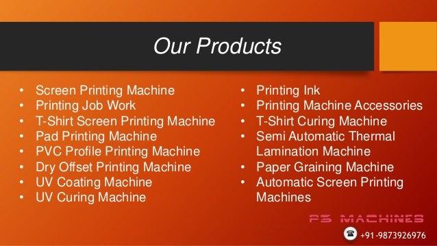 Pad Printing Machine In Delhi P3 Machines