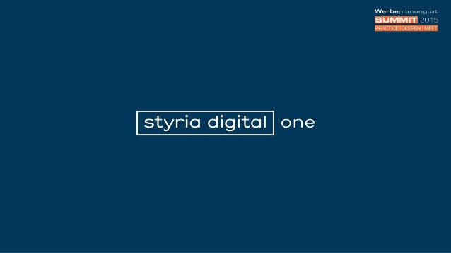 über 35 Portale 3,7 Mio. UU/M1 1,1 Mio. UC/T2 Portfolio sd one 1| ÖWA Plus 2014-IV styria digital one 2| ÖWA Basic März 20...
