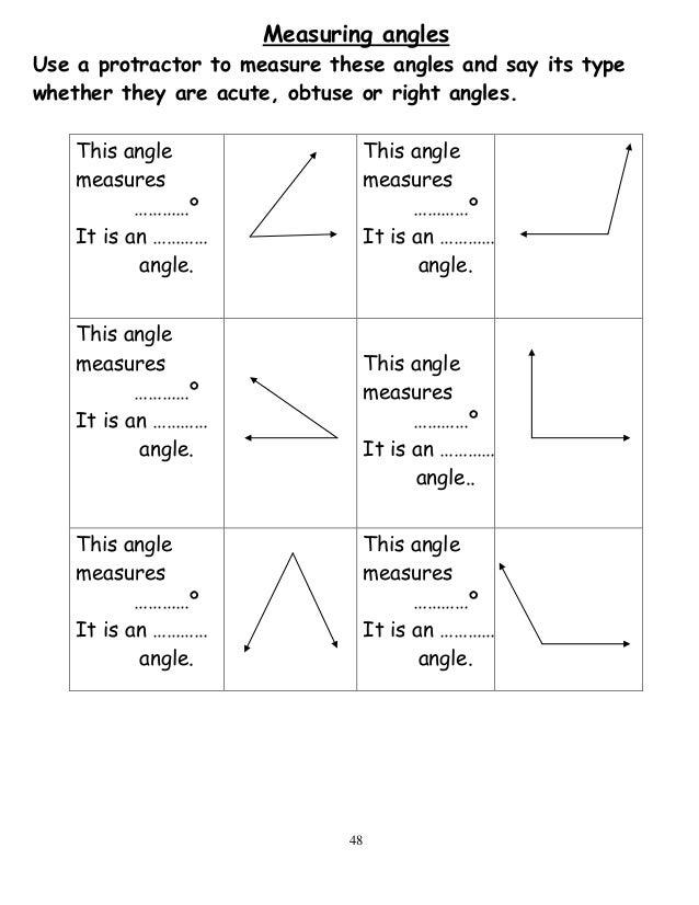 Measuring Angles Without A Protractor Worksheet - jannatulduniya.com