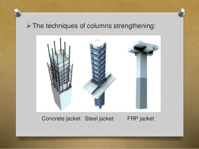 Capacity Of Strengthened Reinforced Concrete Columns