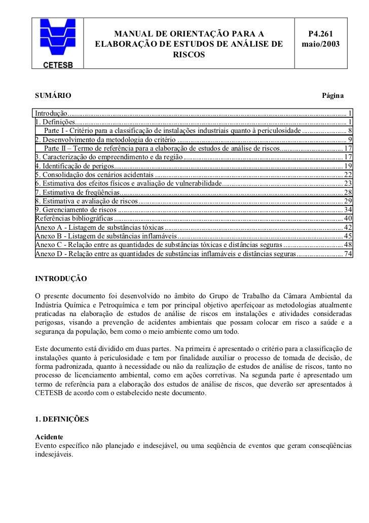 MANUAL DE ORIENTAÇÃO PARA A                                                                             P4.261            ...