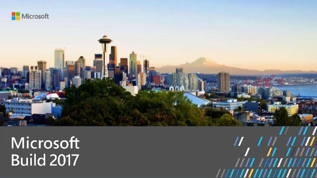 Build 2017 - P4031 - Azure Active Directory v2 endpoint and