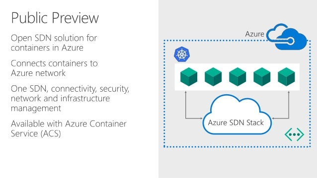 Build 2017 - P4045 - Azure VNet for Containers