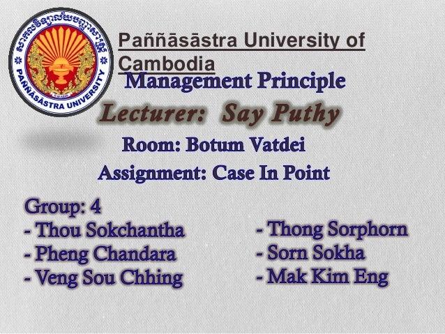 Paññāsāstra University ofCambodia