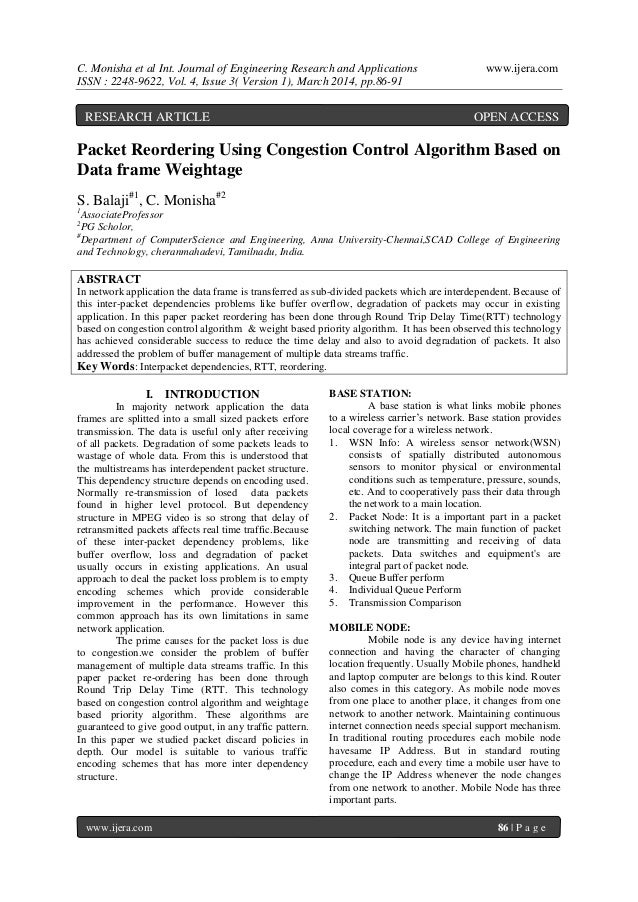 C. Monisha et al Int. Journal of Engineering Research and Applications www.ijera.com ISSN : 2248-9622, Vol. 4, Issue 3( Ve...
