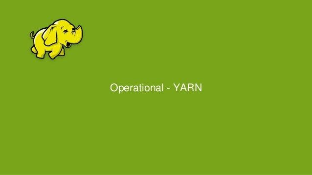 Operational - YARN