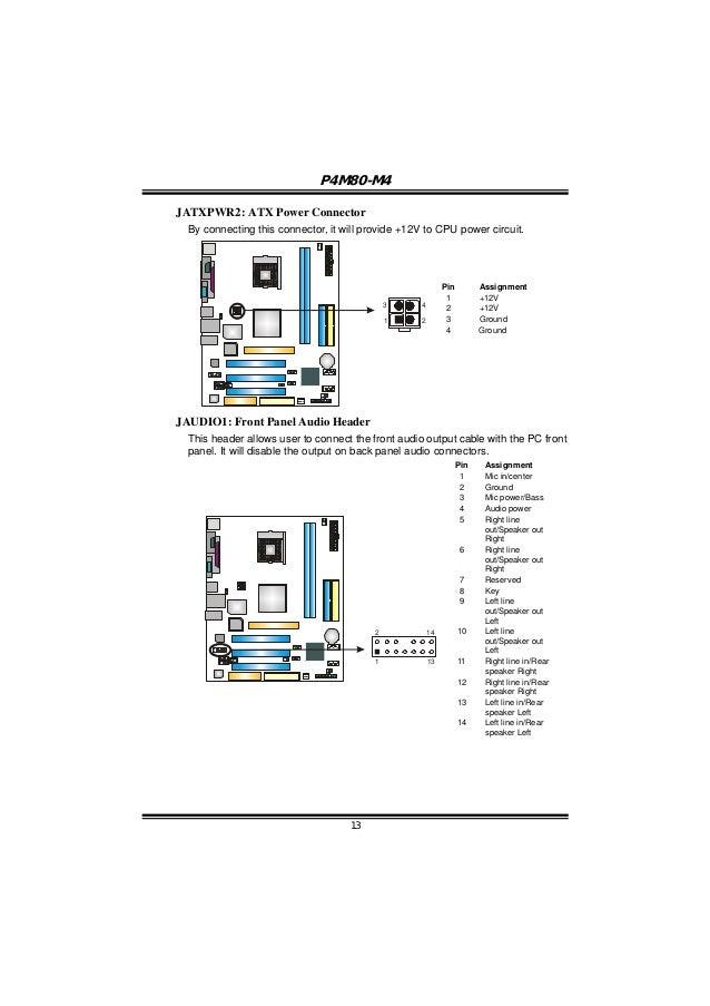 P4M80 M4 AUDIO LAST DRIVER FOR WINDOWS 10