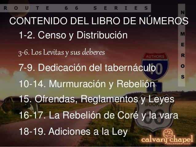 P4 Estudio Panorámico de la Biblia: Números