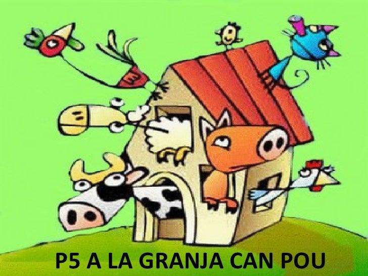 P5 A LA GRANJA CAN POU