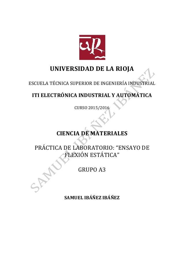 UNIVERSIDAD  DE  LA  RIOJA      ESCUELA  TÉCNICA  SUPERIOR  DE  INGENIERÍA  ...